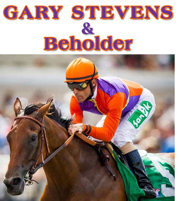 Gary Stevens on Derby Contender Firing Liine